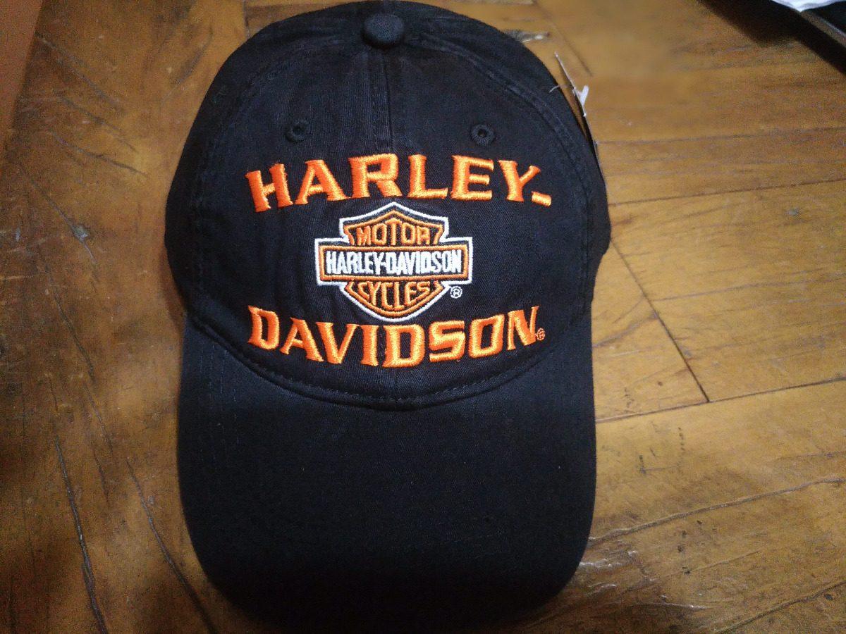 boné harley davidson importado preto bordado 088. Carregando zoom. 13e10548951