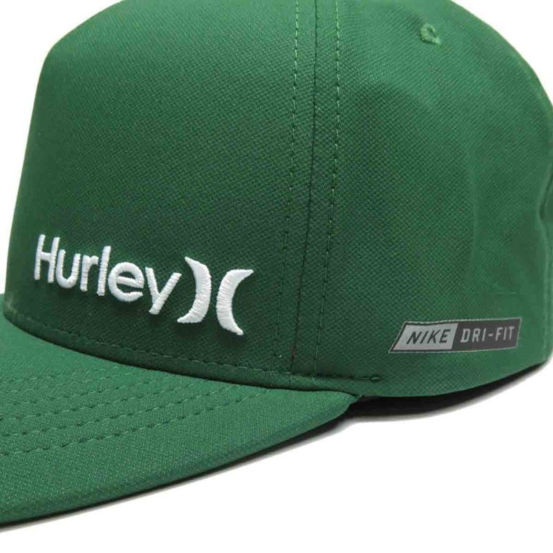 boné hurley aba torta nike dri-fit verde 637852. Carregando zoom. db454fbc691
