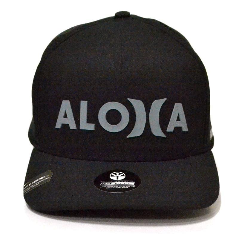 boné hurley dri-fit aloha aba curva snapback preto. Carregando zoom. 60407db3bc7
