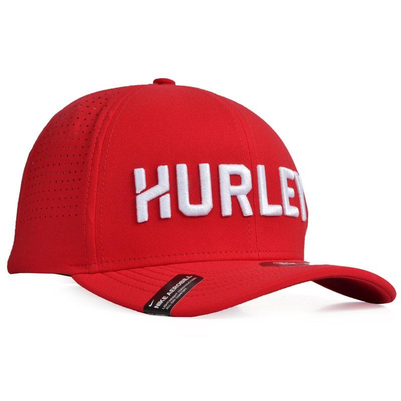 boné hurley dri-fit wise aba curva snapback vermelho. Carregando zoom. 7f31090c240
