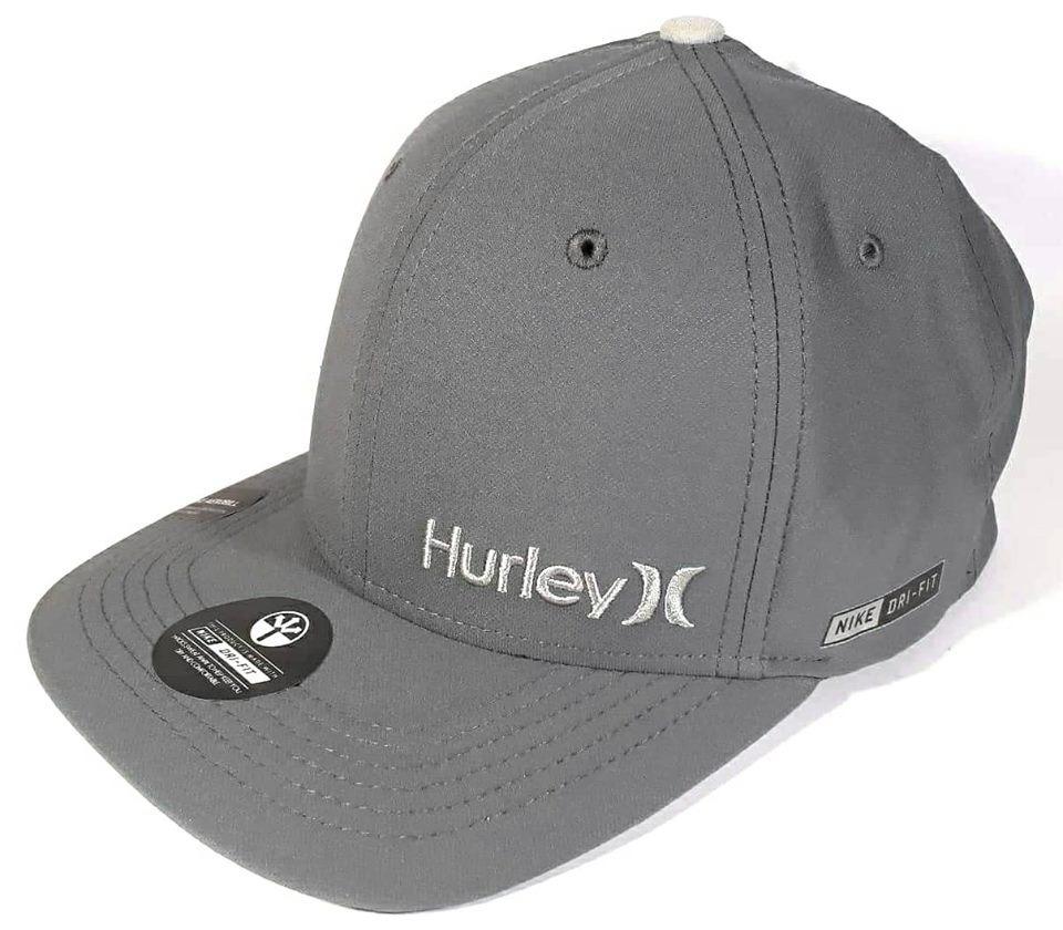 boné hurley icon dri-fit cinza snapback. Carregando zoom. 02a20fa0188