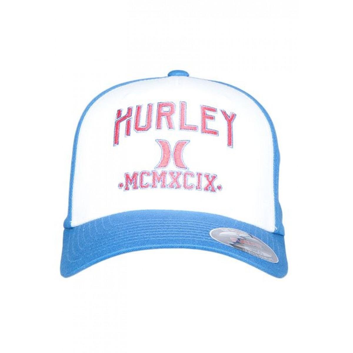 boné hurley logo azul e branco masculino original. Carregando zoom. 961fed685e2