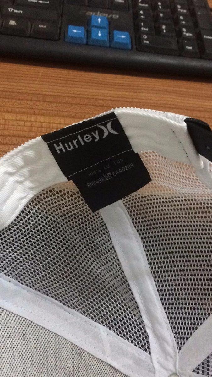 399d4e711d Boné Hurley Tela Aba Reta Snapback - R$ 49,00 em Mercado Livre