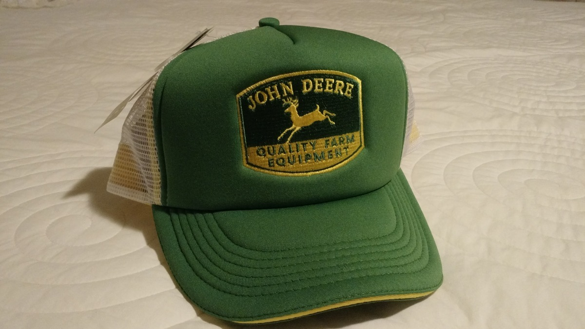 Boné Importado Original Legítimo John Deere 515990a9b38