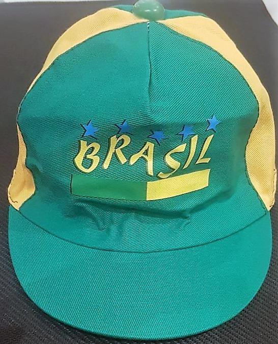 Boné Infantil Bebê 0 A 12 Meses Tema Do Brasil Copa 2018 - R  10 08e0014febb