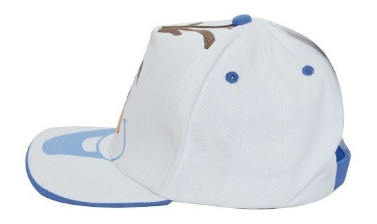 19f6f66506 Boné Infantil Branco Olaf Frozen - Disney - R$ 34,90 em Mercado Livre