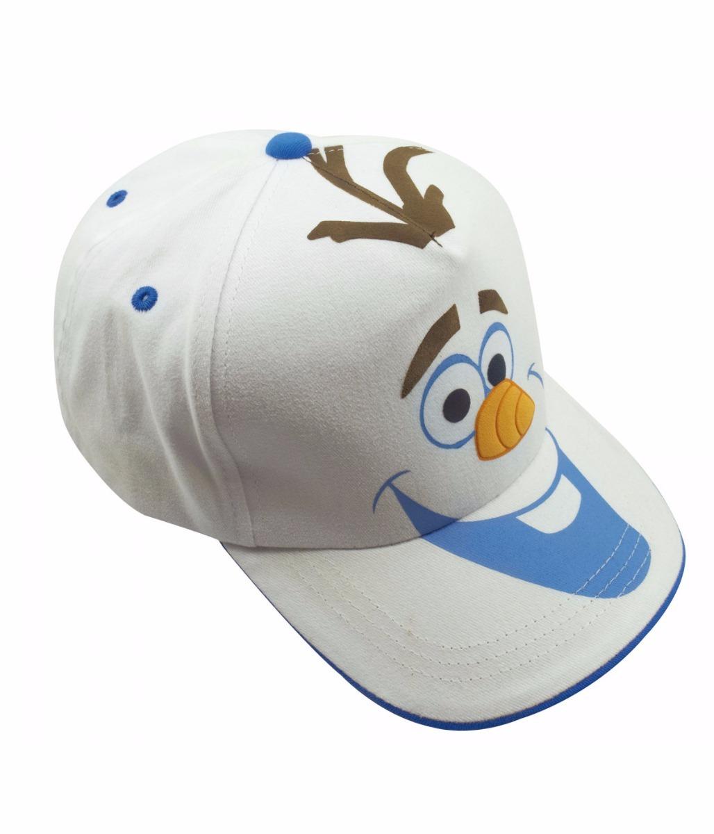 0adf262f31 Boné Infantil Branco Olaf Frozen - Disney - R$ 53,90 em Mercado Livre