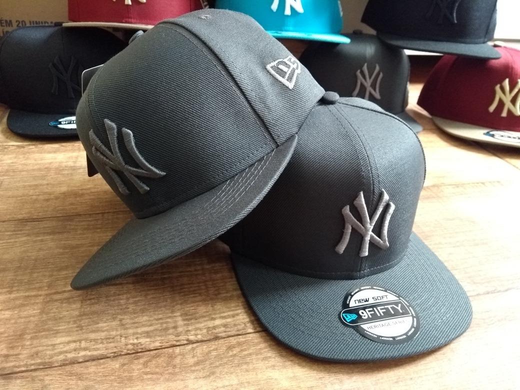 5457581fe00c8 Boné Infantil Ny   New York   Yankees Infantil   Aba Reta   - R  39 ...
