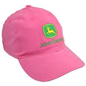 Boné John Deere Femenino Rosa Pink 100% Original - R  58 c03d6de5c15
