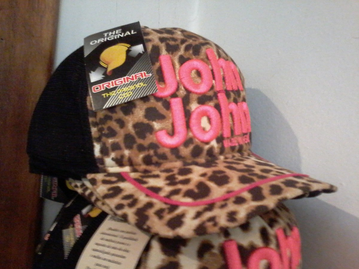99b3c0467 Boné John John De Oncinha Totalmente Bordado - Cod 19 - R  59