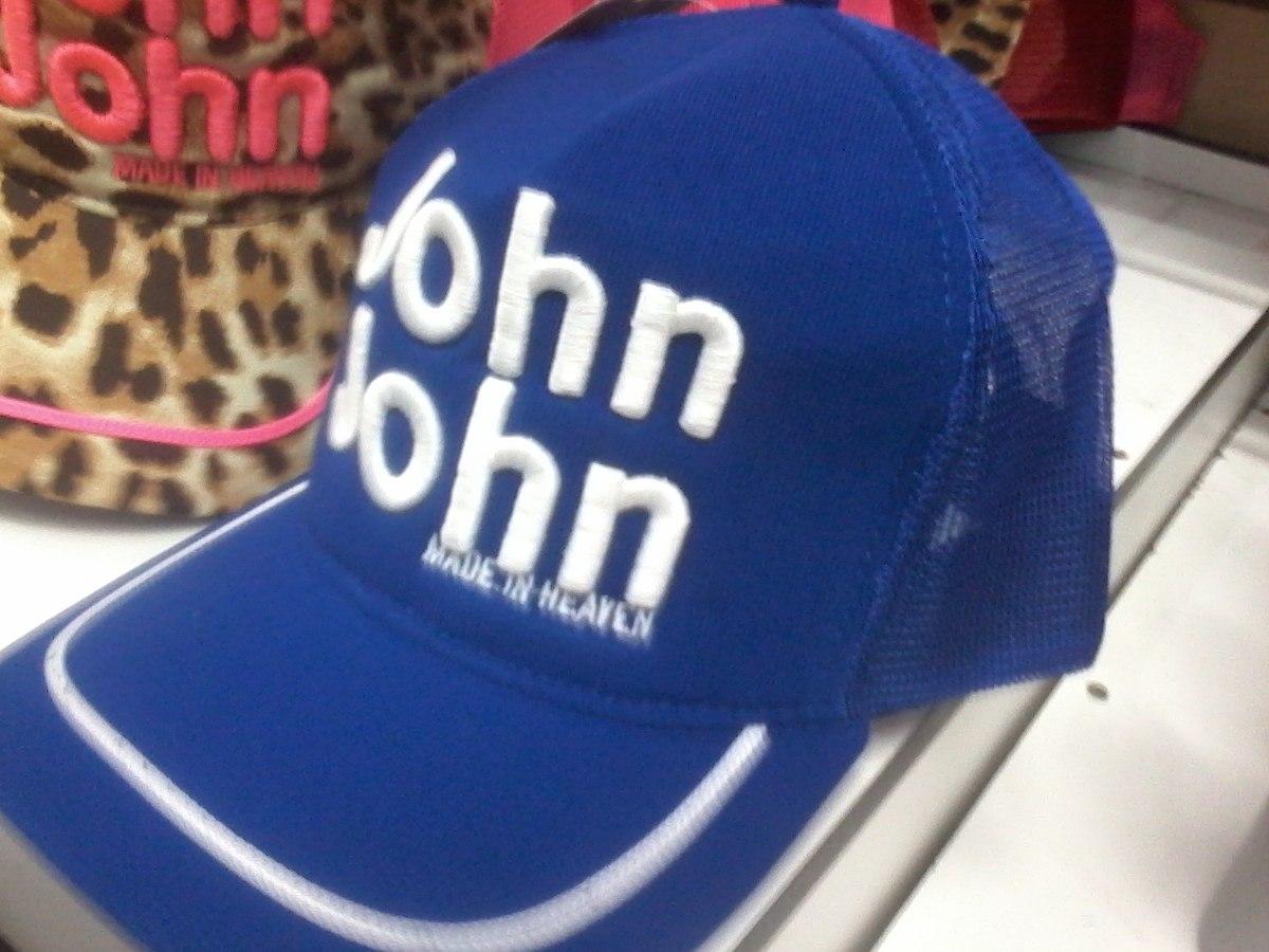 Boné John John Feminino Letras Bordadas - R  69 f72a388e176
