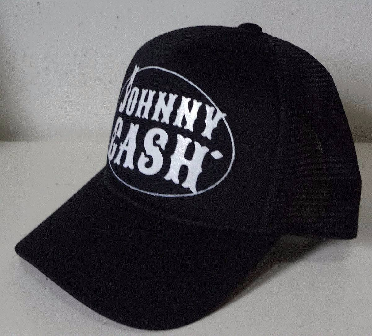 boné johnny cash trucker cap tela. Carregando zoom. e240acd0bf1