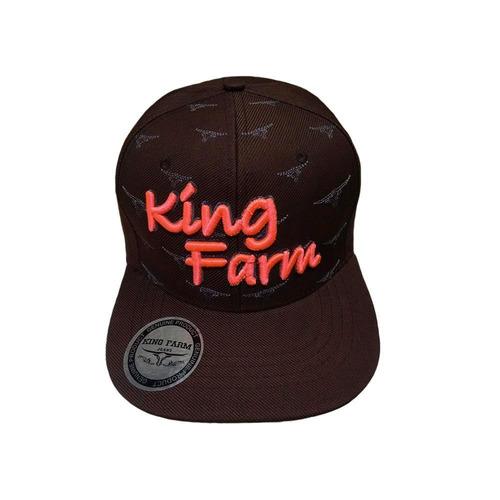 9a3d5bbe2b boné king farm aba reta azul marinho e rosa fluor ab300b. Carregando zoom.