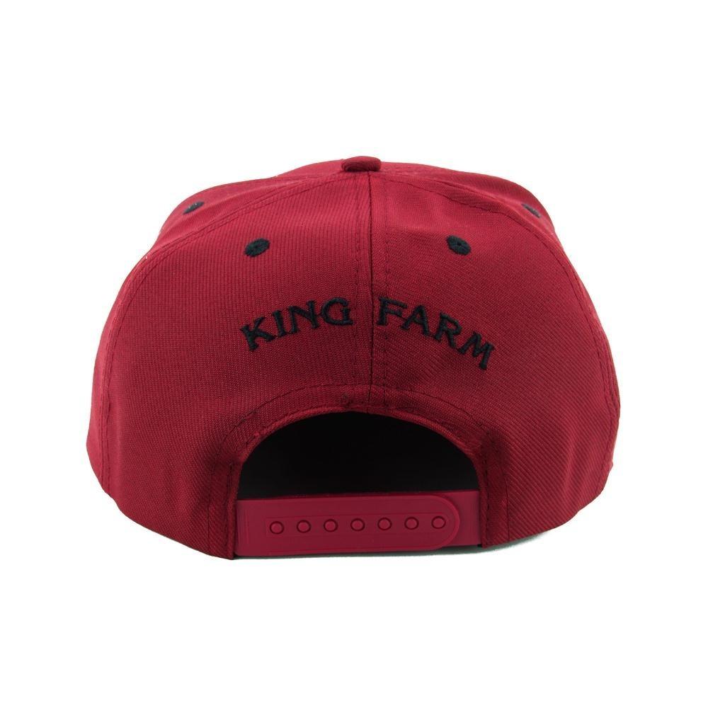 727c864a26 boné king farm live aba reta vermelho e preto ca31g. Carregando zoom.
