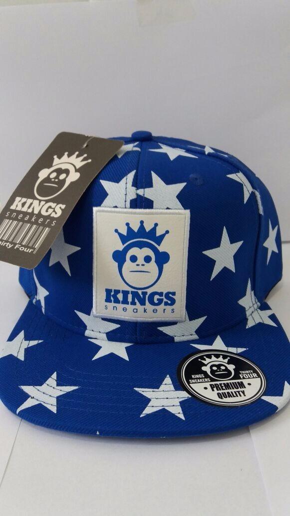 093465c5805bc Boné Kings Sneakers Azul Estrelado - Frete Grátis - R  71