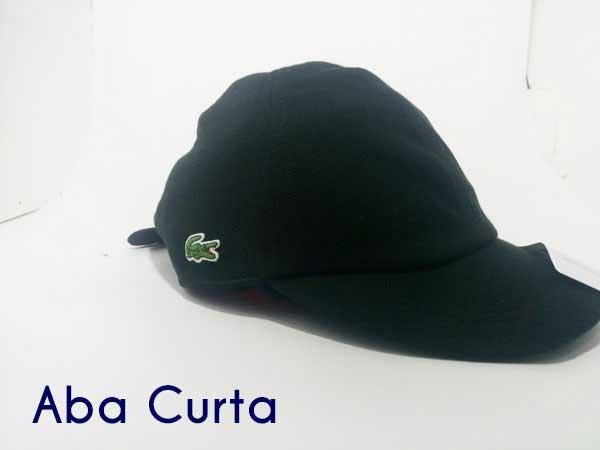 Boné Lacoste Masculino Lacinho Aba Curta Preto Sport Peru - R  59,00 em  Mercado Livre 4fc3d032f4