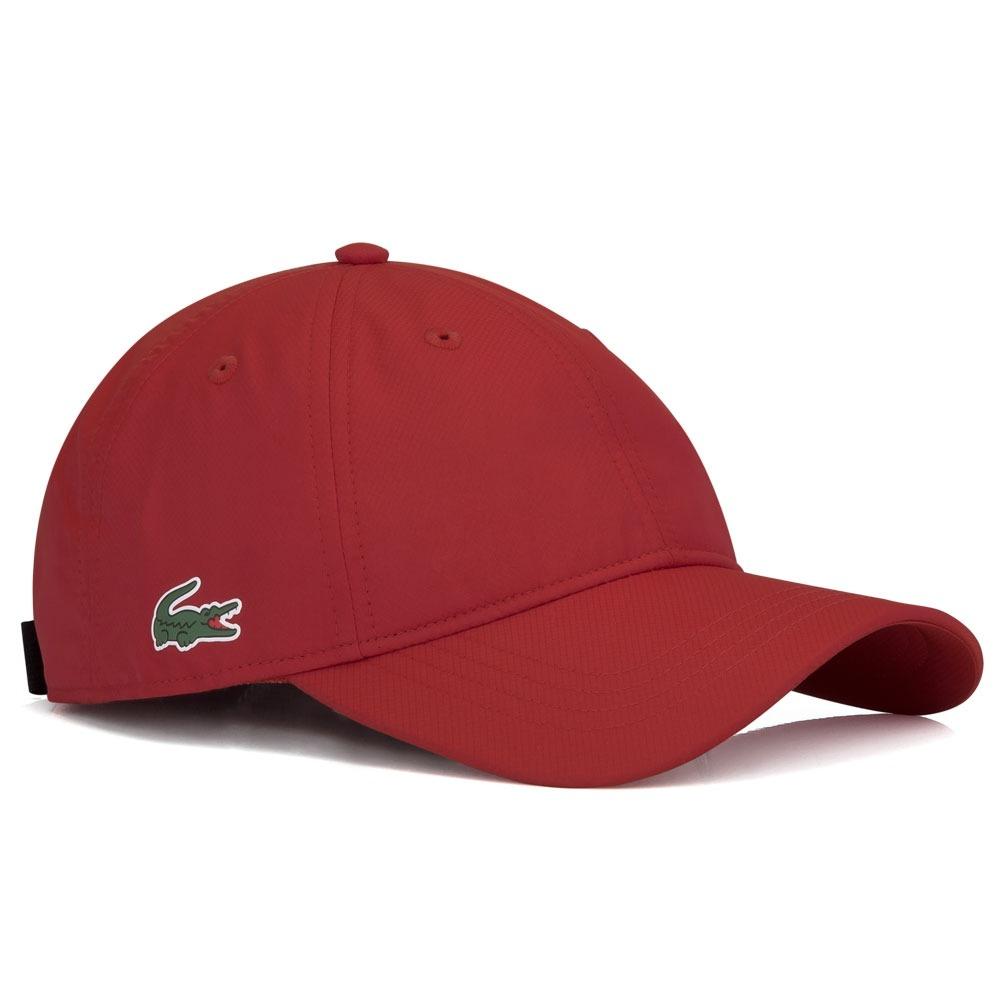 061d637c7613a Boné Lacoste Rk2447 Tennis Training Vermelho - R$ 129,90 em Mercado ...