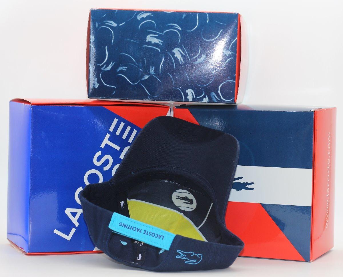 9578d242242 Boné Lacoste Sport E Live Original Big Croc França Com Caixa - R  69 ...