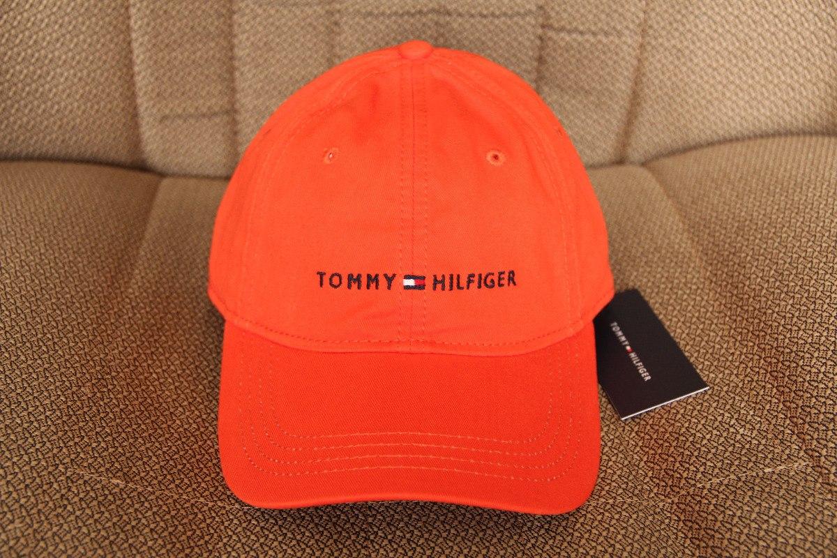 bone laranja classico da tommy hilfiger 100% original. Carregando zoom. 7d606a2de70