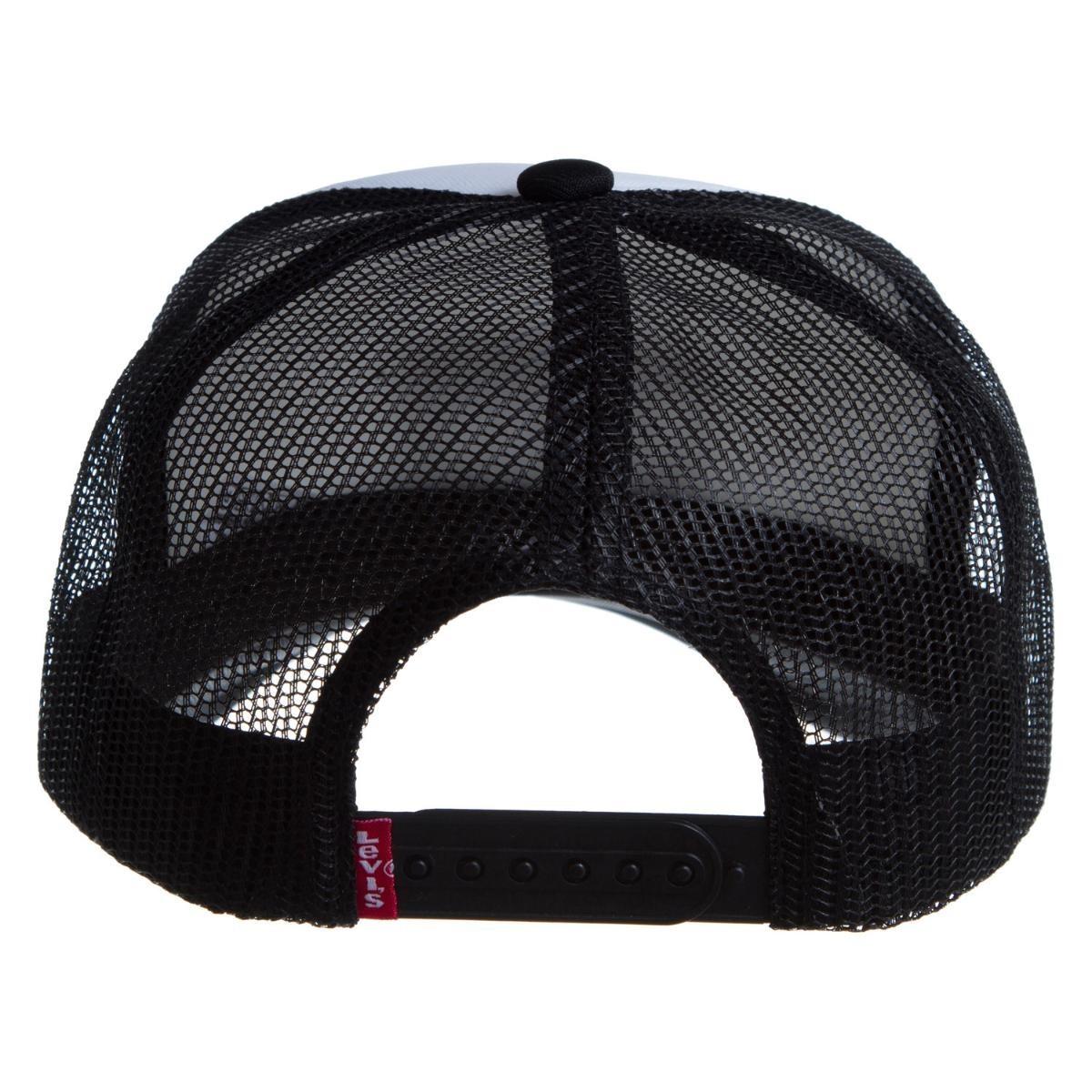 boné levis trucker sportswear preto - cor preto. Carregando zoom. 8ae40be8157