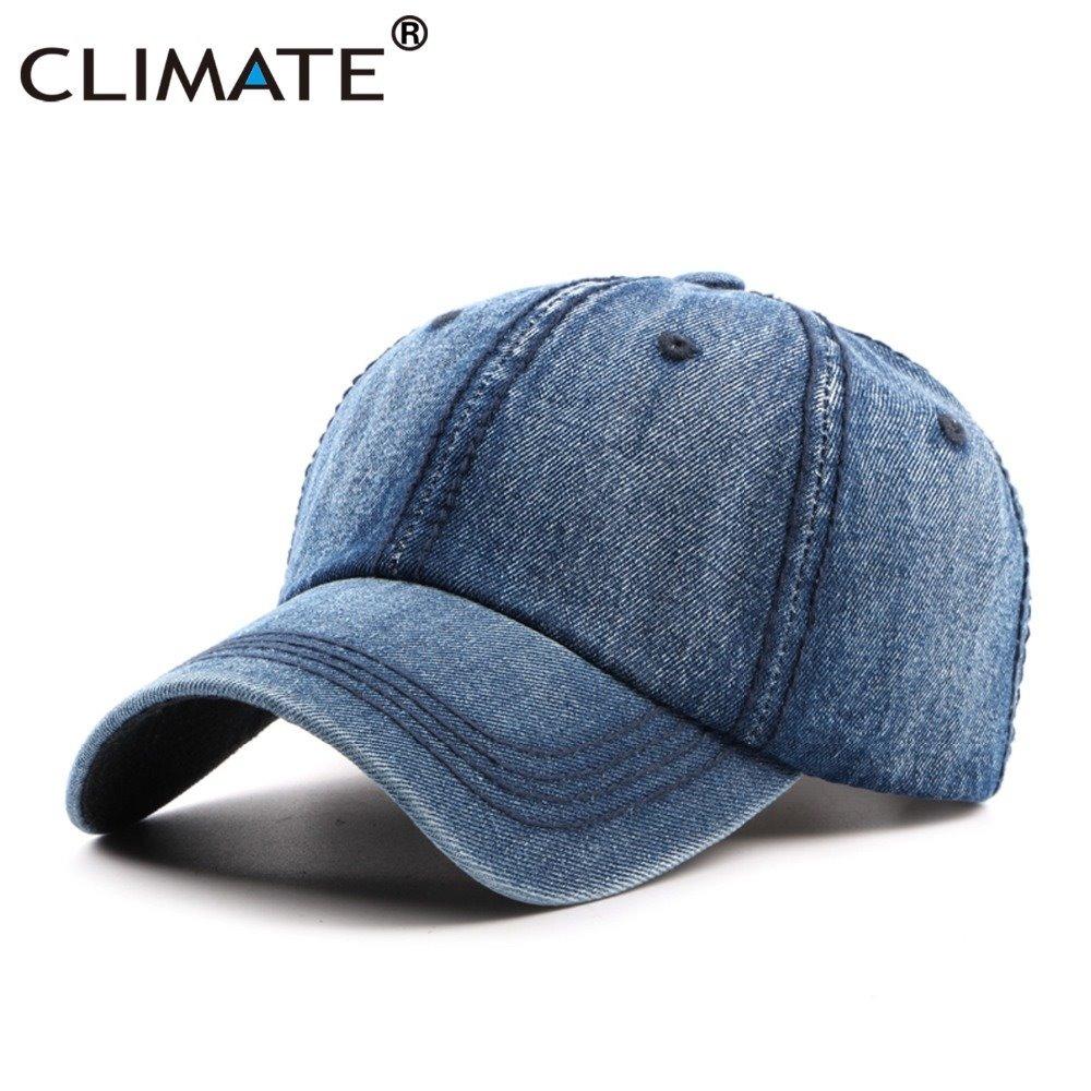 0961cb48ddc0f boné liso jeans tamanho infantil 50-54cm aba curva original. Carregando  zoom.