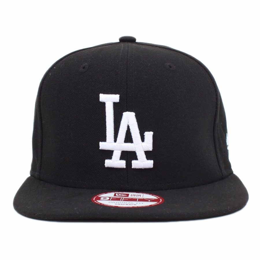 c5ffc35e79273 boné los angeles dodgers original fit snapback new era preto. Carregando  zoom.
