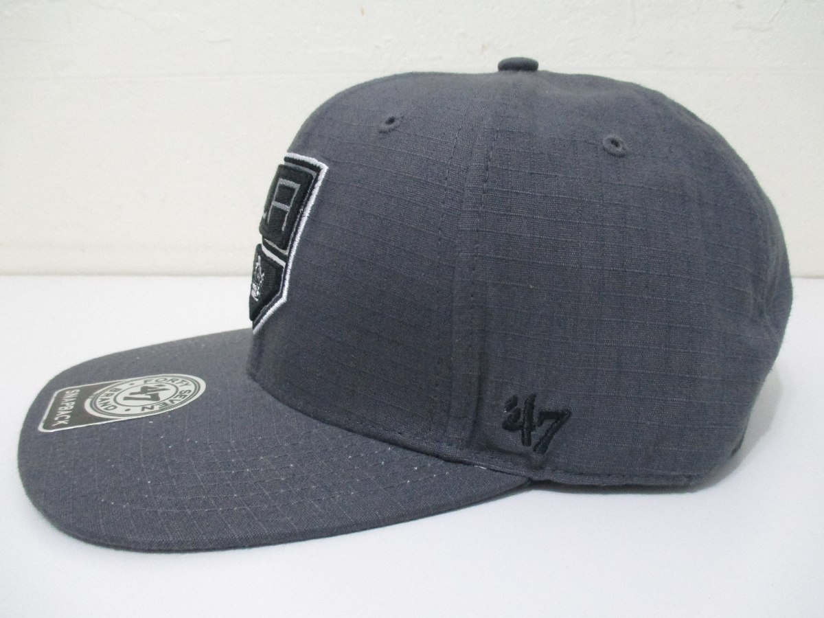 boné los angeles kings 47 brand cinza snapback original. Carregando zoom. 2b2a5005ffa