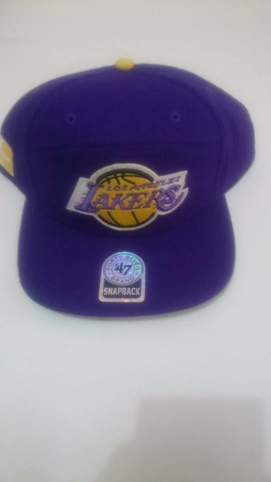 25a3125d738a8 boné los angeles lakers snapback. Carregando zoom.