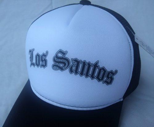 68b62d2b07606 Boné Los Santos Gta Grand Theft Auto Rockstar De Tela - R  49