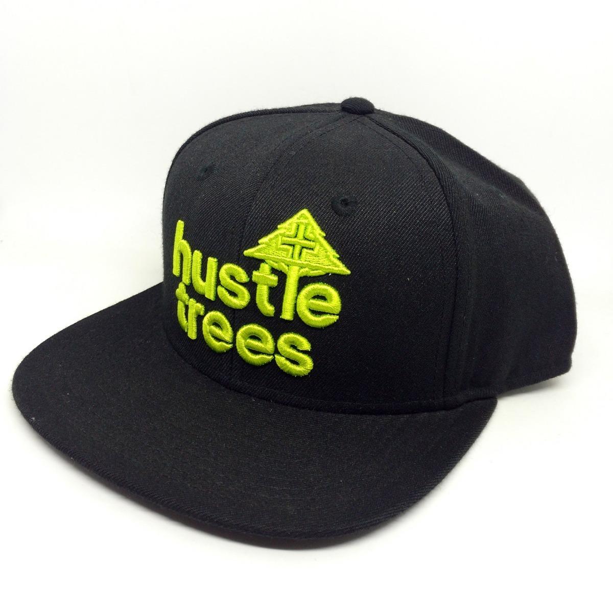 boné lrg hustle trees snapback preto. Carregando zoom. e789241b020