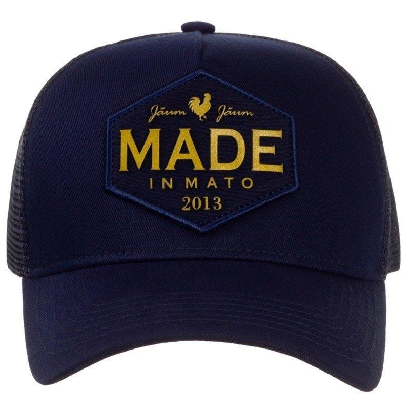 5129ff595c74d Boné Made In Mato Azul Marinho tela B1496 - R  115