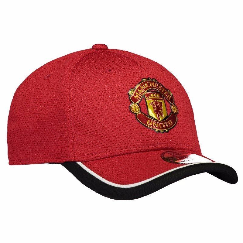 bone manchester united new era original vermelho. Carregando zoom. 435936b29d1