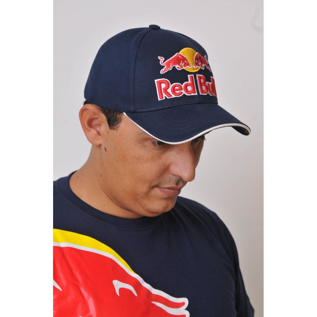 58937842978c4 boné marc marquez red bull powered azul. Carregando zoom.