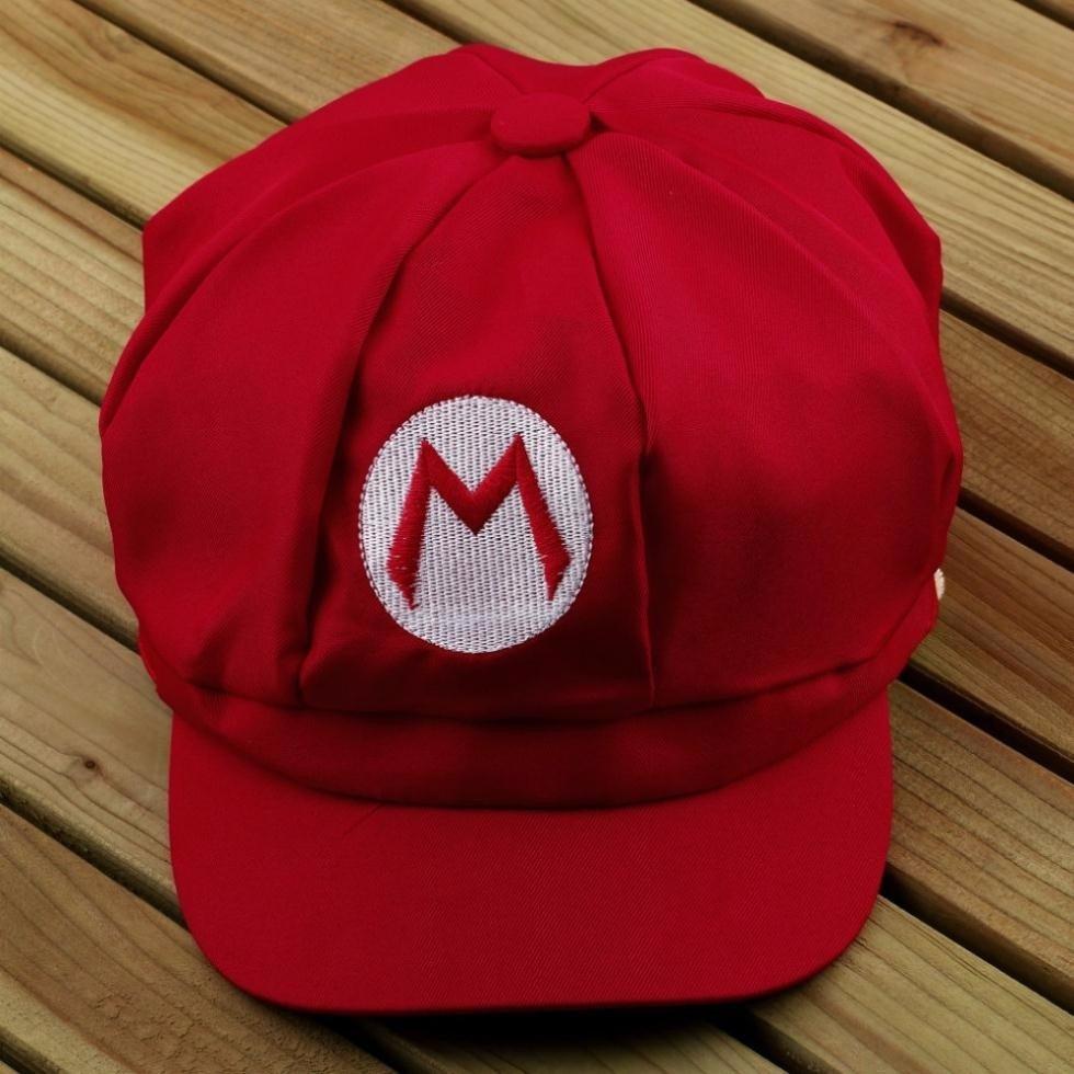 Boné Mario Bros Chapéu Cosplay Pronta Entrega - R  30 fd1b8bf6683