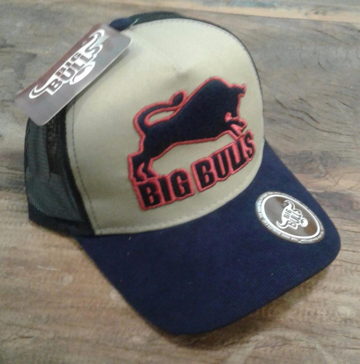 Boné Masculino Cowboy Country Rodeio Big Bulls 00211 - R  49 2125e058334
