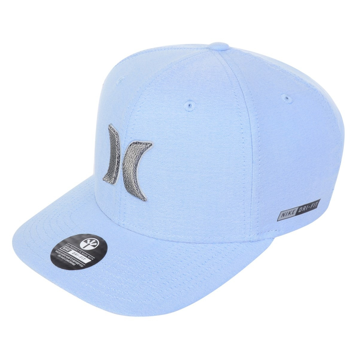 boné masculino hurley dri-fit curvado azul. Carregando zoom. 6eb96f5c51f