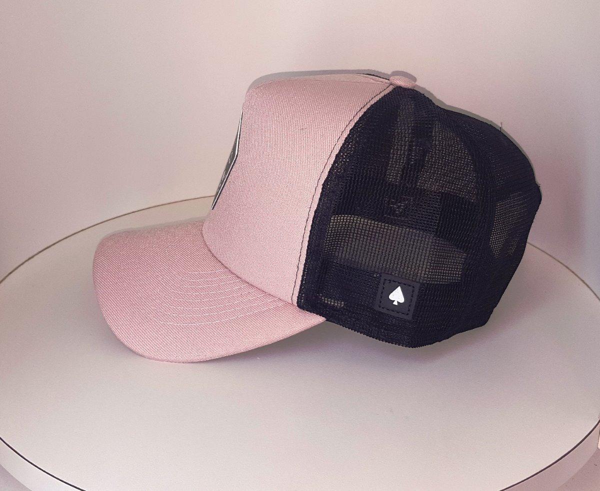 boné mcd trucker telinha tela preto rosa baralho caveira usa. Carregando  zoom. 4cde364e0fe