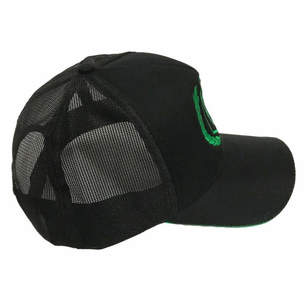 boné medicina veterinária preto e verde trucker - promoção. Carregando zoom. 947d8f9cfc6