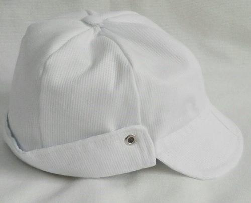 Boné Menino Chapéu Infantil Branco 0 A 9 Meses Batizado Bebe - R  34 ... 16f175bfd7c