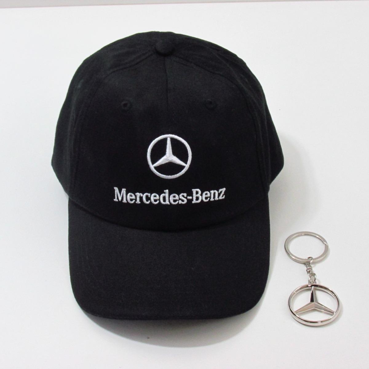 9e7e14dcf6cf8 Boné Mercedes Benz 100% Original Bordado - R  169