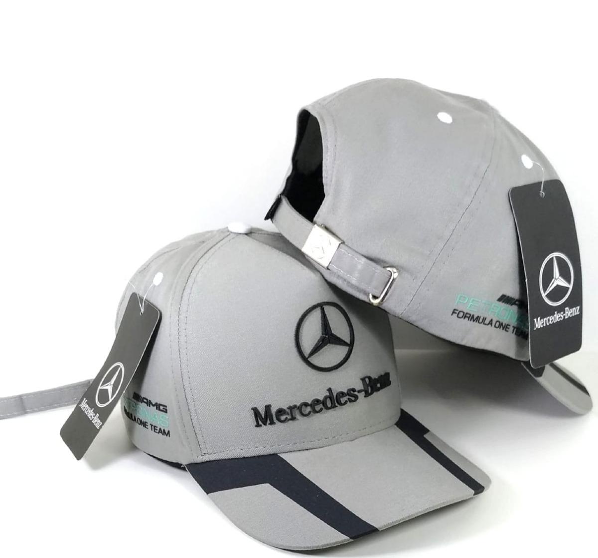 Boné Mercedes Benz Amg Petronas Fitão Strapback Fita Barato - R  41 ... 6d811ecdf6e