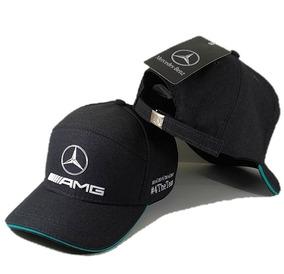 18d9e706dbe Boné Mercedes Benz Amg Petronas Fitão Strapback Fita Barato