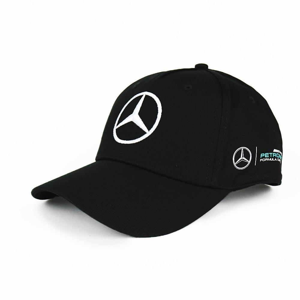 Boné Mercedes Benz Original Piloto Hamilton Campeão C  Nf-e - R  199 ... 6d784fdb650