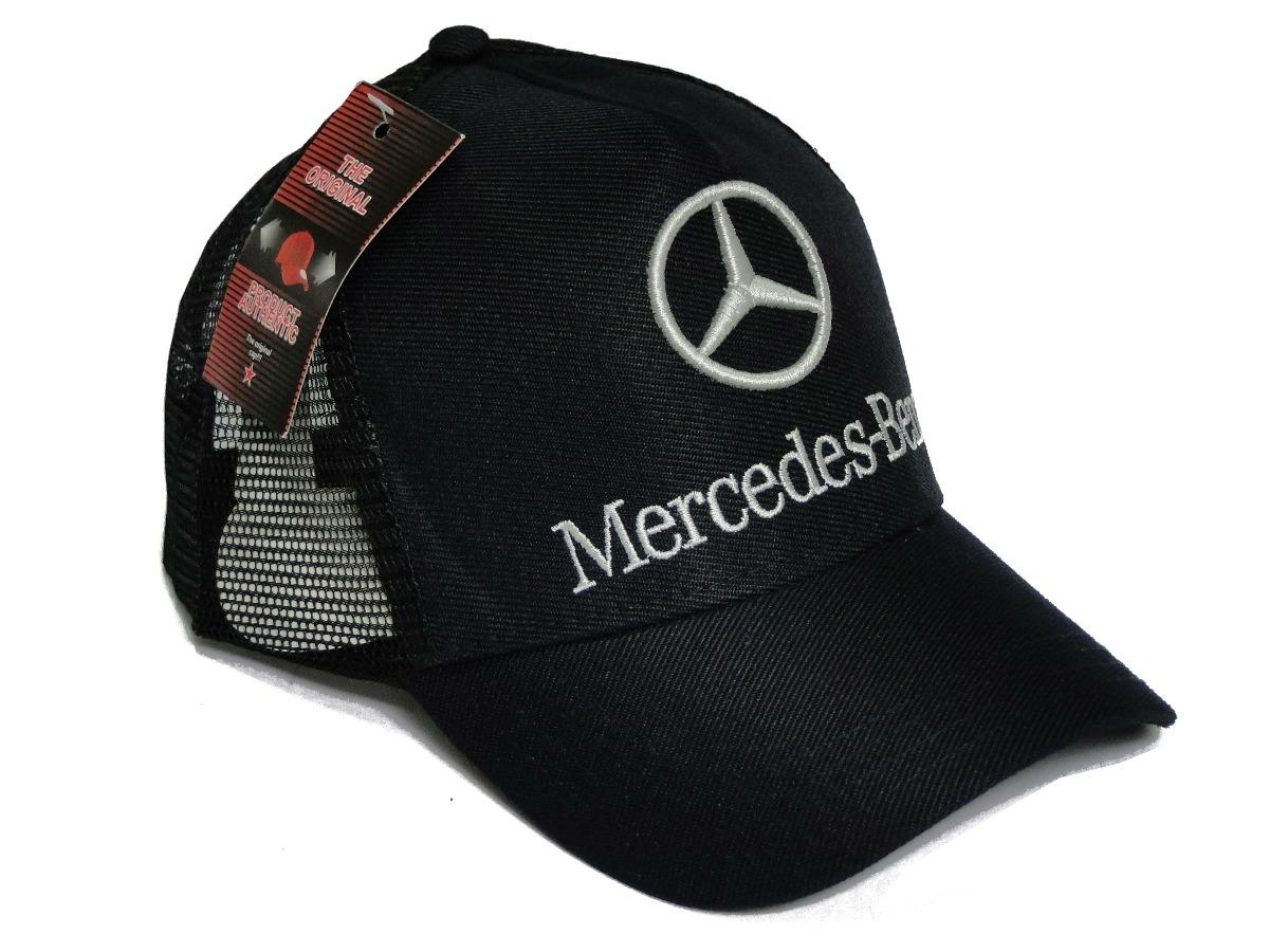 1d8469bf4b02f Boné Mercedes Benz Truker Boné Mercedes Benz Telinha - R  24