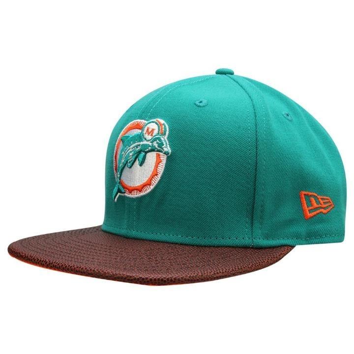 394dbd1c5 Boné Miami Dolphins 950 Athlete Vize Super Bowl Vii New Era - R  159 ...