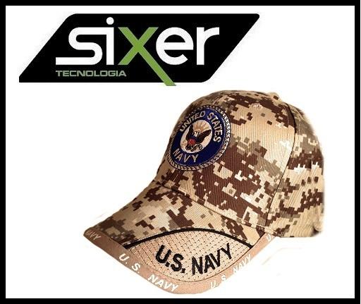 Bone Militar Americano Us Navy Exercito Alto Estilo Usa - R  29 f046d2e6ea2