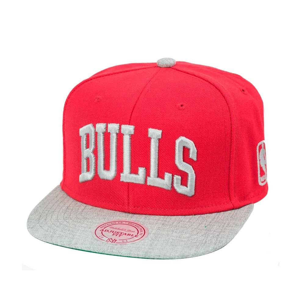 boné mitchell and ness snapback chicago bulls vermelho. Carregando zoom. f6e7f59ea0f77