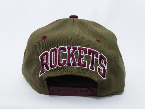 Boné Mitchell   Ness Houston Rockets Dual Snapback Original - R  149 ... 863ce16c634