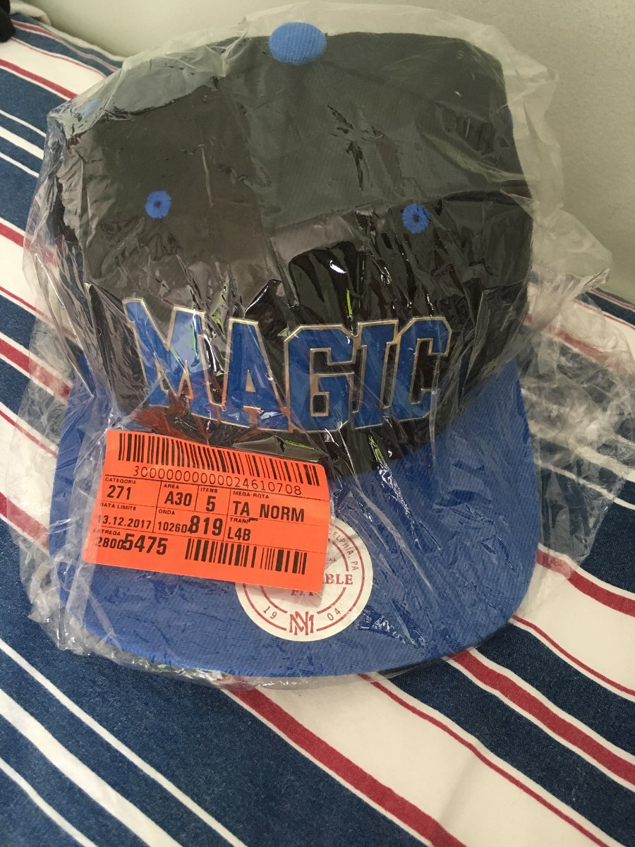 ... orlando magic novo e original · bone mitchell ness. Carregando zoom. d260596c7490c