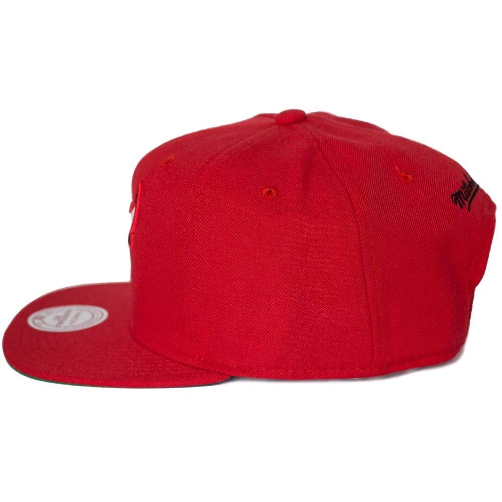 0ffc7dae4df88 ... snapback chicago bulls vermelho. Carregando zoom... boné mitchell ness.  Carregando zoom.